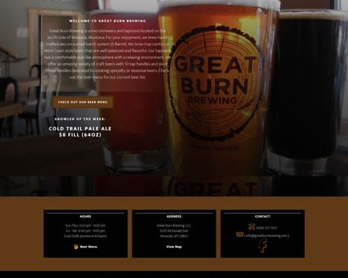 Great Burn Brewing