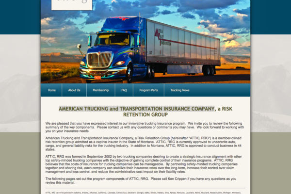 American Trucking and Transportation Insurance Company