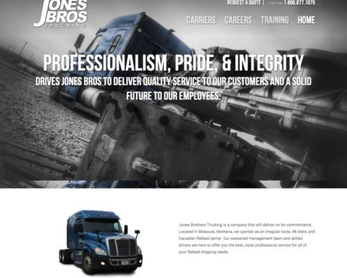 Jones Brothers Trucking