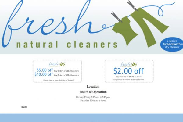 Fresh Natural Cleaners